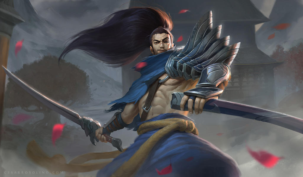 League Of Legends Yasuo Fanart By Rosolino On DeviantArt