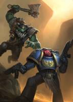 Warhammer 40k by Rosolino