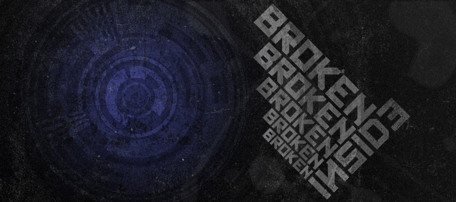 Broken Inside by Mird I Love Typography #2