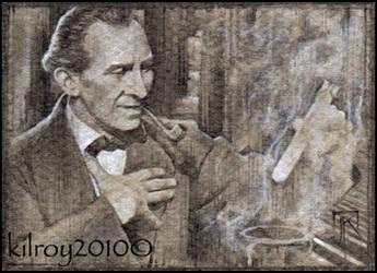 Sherlock Holmes #42 by jimkilroy