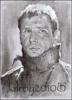 Deckard (Blade Runner) by jimkilroy