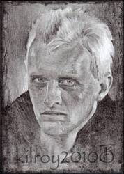 Roy Batty (Blade Runner) by jimkilroy