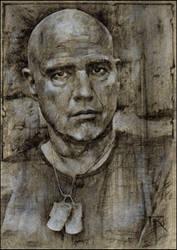 Colonal Walter E. Kurtz (Marlon Brando) by jimkilroy