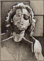 Snake Plissken (Escape From New York) by jimkilroy