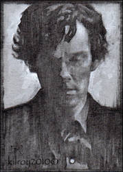 Sherlock Holmes #44 (Benedict Cumberbatch) by jimkilroy