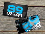 Business Cards for 89 Design