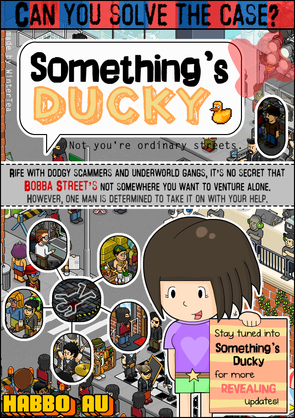 Somethings Ducky Poster by SqueakyToybox