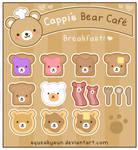 Bear Cafe Breakfast Menu