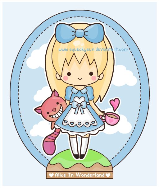 Alice in Wonderland by SqueakyToybox
