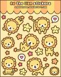 Ru the lion stickers