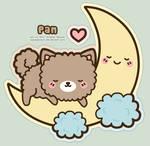 Pan sleeping