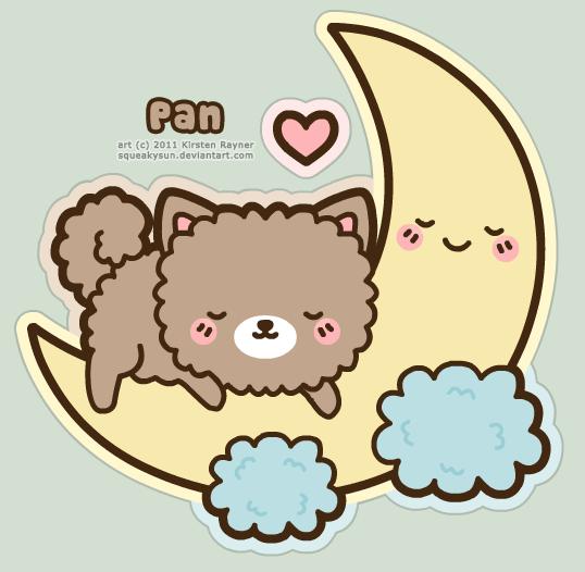 Pan sleeping by SqueakyToybox