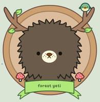 Black forest yeti by SqueakyToybox