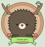 Black forest yeti