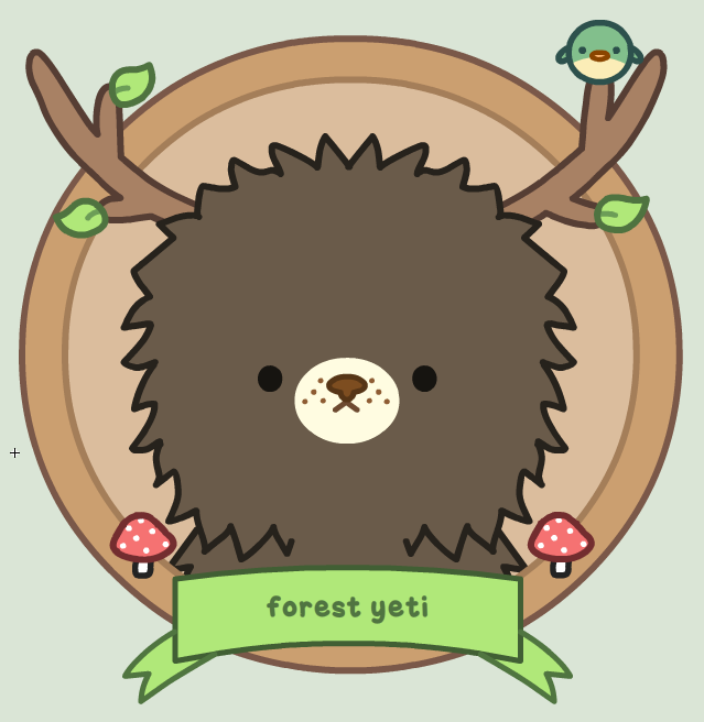 Black forest yeti by SqueakyToybox
