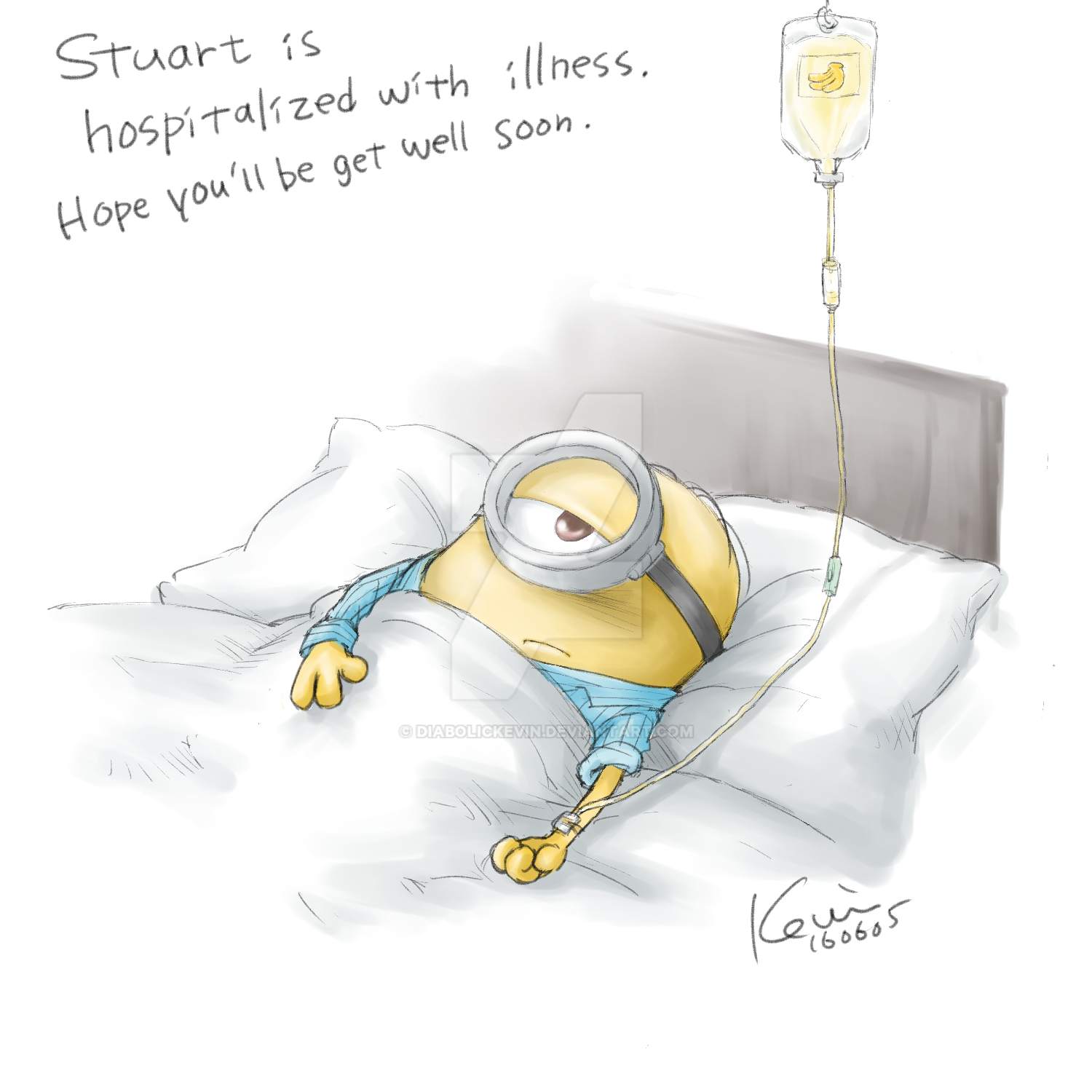 Stuart Has Getting Sick. By DiabolicKevin On DeviantArt