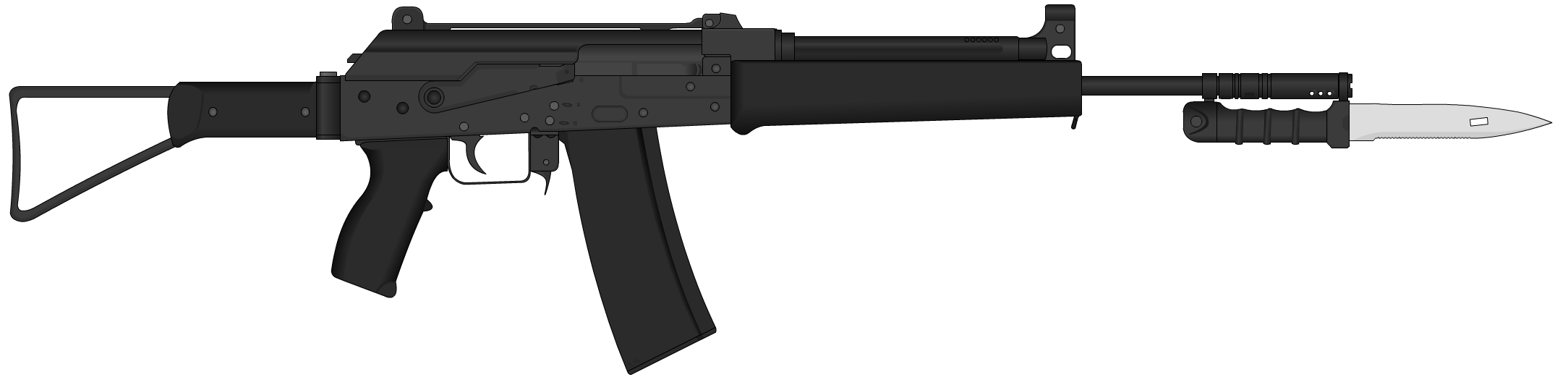 AK 5.56 Md. 97 by Semi-II
