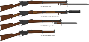 Wz. 1887 Infantry Rifle and variants