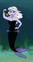 Disney Princess: Ariel vs. Ursula by Lunipard