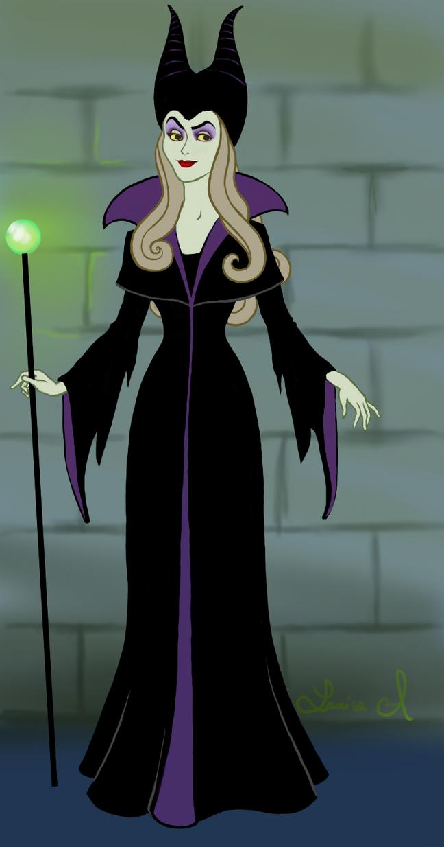 Disney Princess: Aurora vs. Maleficent by Lunipard on ...