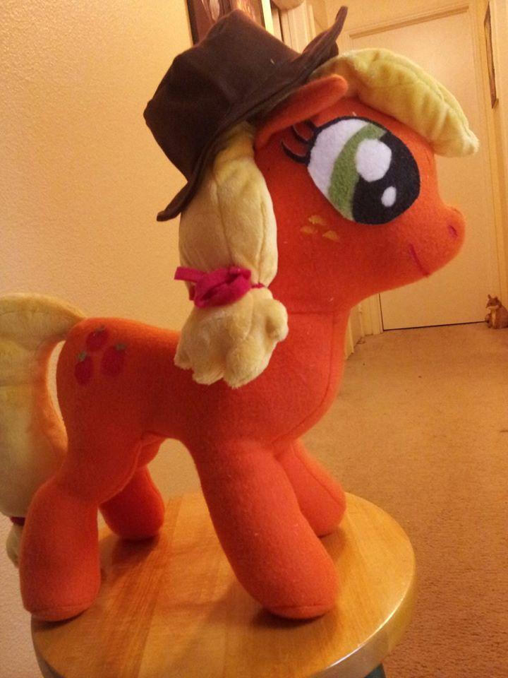 Applejack Plush with Hat by SAHikari