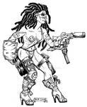 CAC-Post-Apocalypse-Gunfighter-Babe-F-BKM