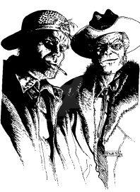 Clipart Critters Rednecks by BKMcDevitt