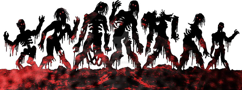 CAC446-ZombieHorde by BKMcDevitt