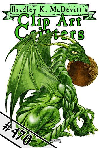 CAC470-Emerald Dragon by BKMcDevitt