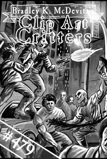 CAC479-Modern Street Gang fight by BKMcDevitt
