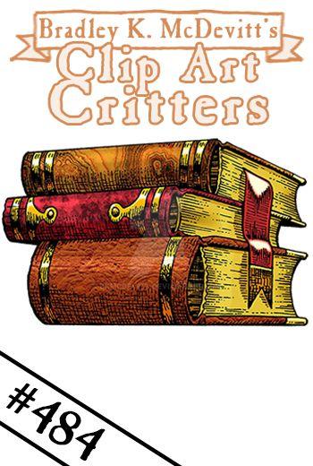 CAC484-Old Books by BKMcDevitt