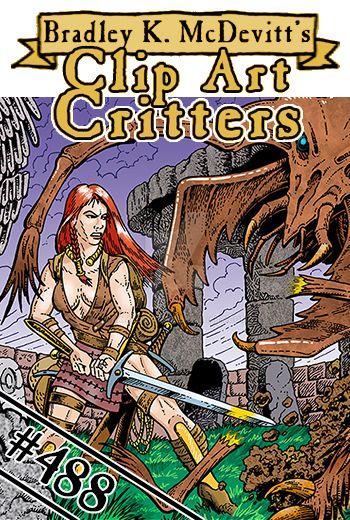 CAC488-Graveyard Monster Battle-TN by BKMcDevitt