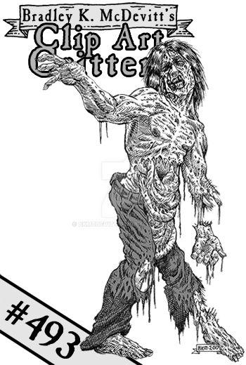 CAC493-Gruesome Zombie-tn by BKMcDevitt