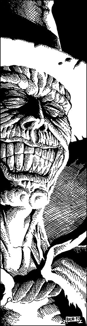 CAC82-Grinning Ghoul-BKM-lo by BKMcDevitt