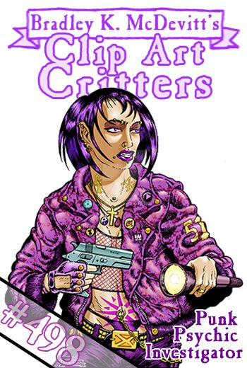 CAC498-Punk Psychic Investigator-TN by BKMcDevitt
