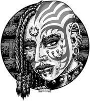 CAC550-Cybergoth Grrl-lo
