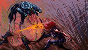 Shepard Rachni SpeedPainting