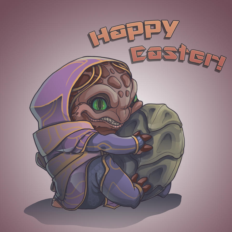 Happy Easter by Yosh9