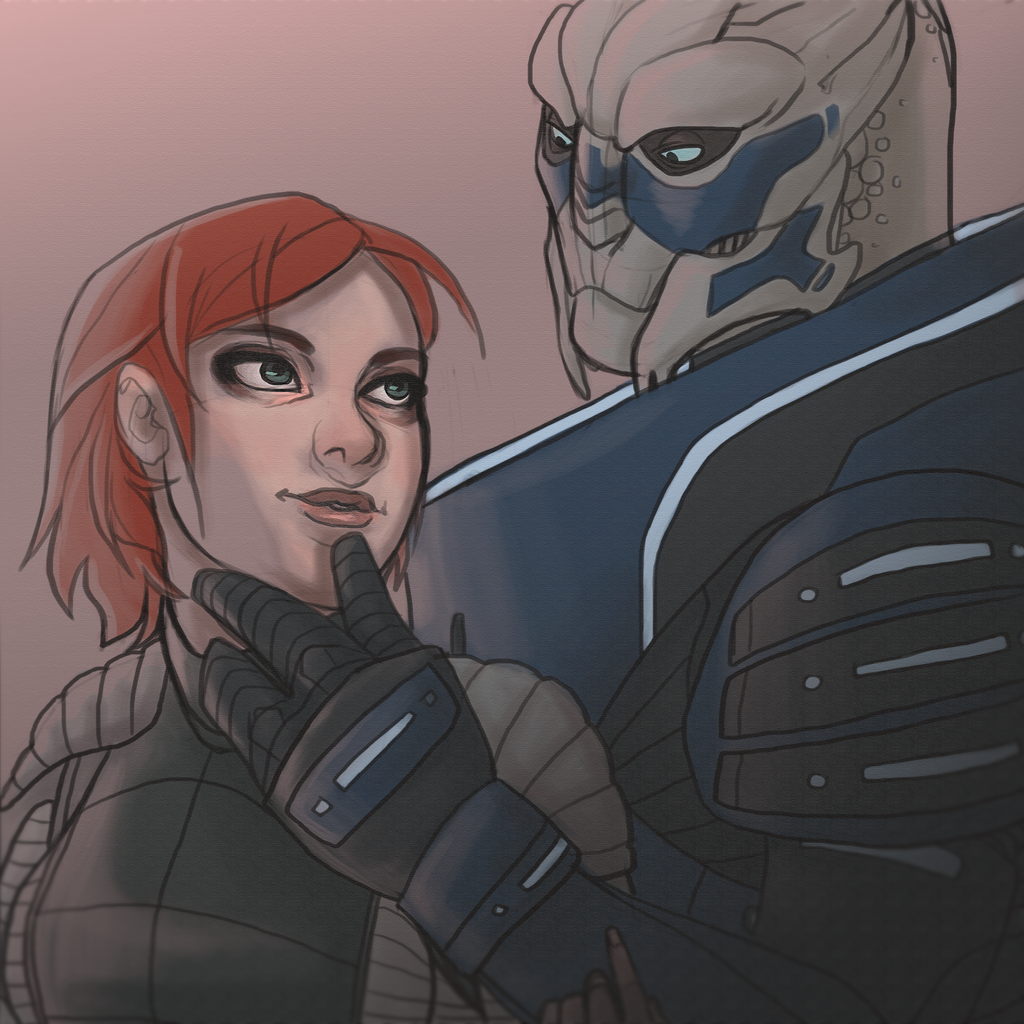 Mass Effect Live Wallpaper: Shakarian By Yosh9 On DeviantArt