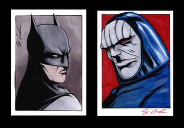 DC Sketch Cards