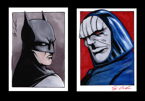 DC Sketch Cards by jpc-art