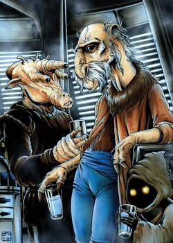Yak Face on Jabba's Sail Barge