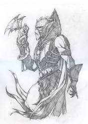 Hordak - Pencils by jpc-art