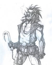 Lobo - Pencils by jpc-art