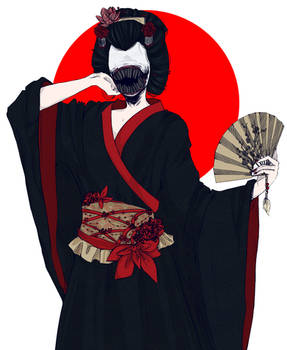 Ohaguro Bettari: Japanese Mythology (PRINT)