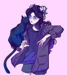 Doodle #70 (Luna and Vega)