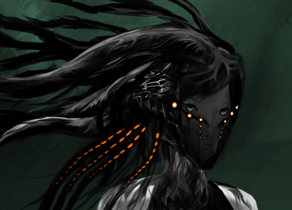 Cyberpunk Mask by One-Wing-Dragon