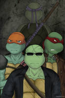 TMNT SAINW - We've left the past behind by peppermint001