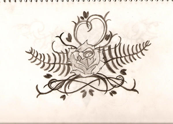Rose vine tattoo by ~spongy-tweety on deviantART
