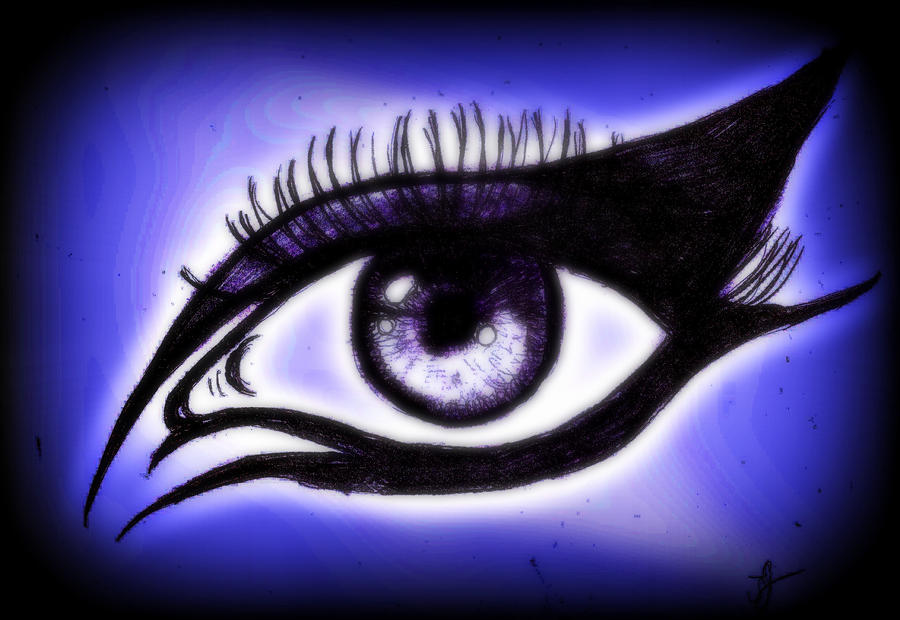 Gothic Eye By Spongy Tweety